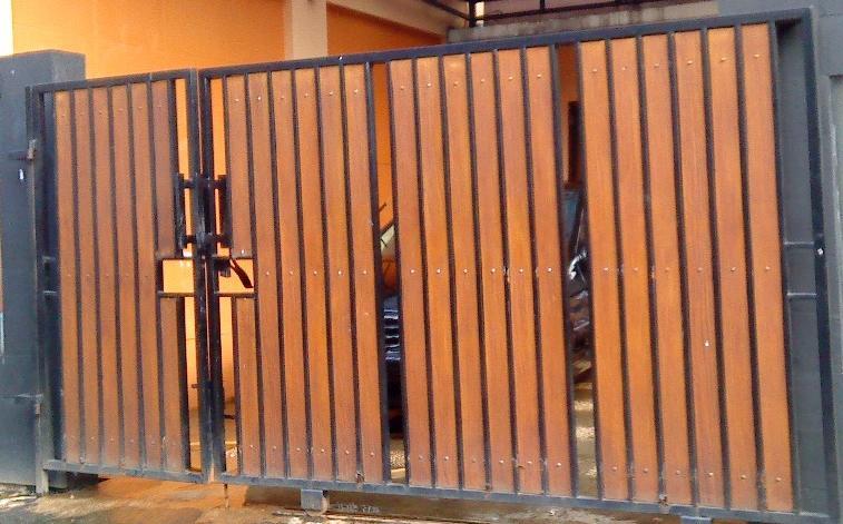 Pembuatan pagar (proses pembangunan Rumah)  My lovely baby