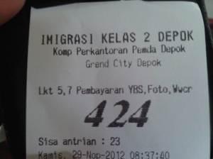 Nomor antrian