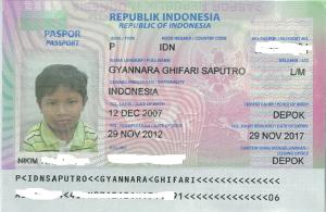 paspor nara