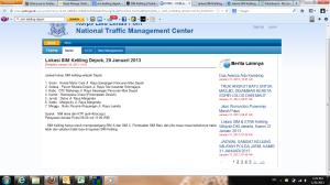 Informasi lokasi SIM keliling Depok untuk pertanggal 29 Januari